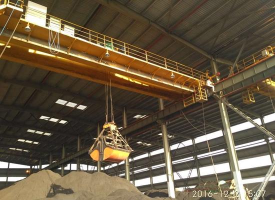 Grúa aérea de pinza de 10 toneladas