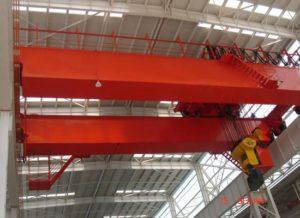 Grúa aérea de doble viga de 15 toneladas