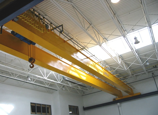 Grúa eléctrica de doble viga de 15 toneladas