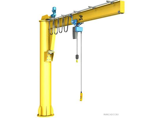 2 Ton Jib Crane Easy Use