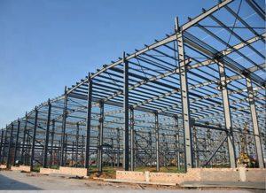 Fábrica compacta de estructuras de acero