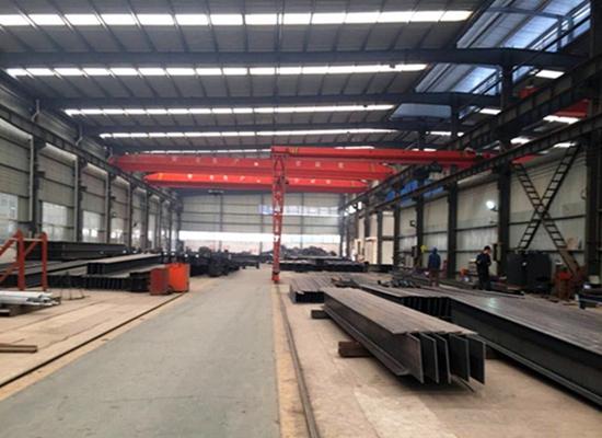 Estructuras industriales de acero duraderas