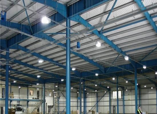 Fábrica de estructuras de acero duraderas