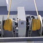 Cabrestante eléctrico de barco