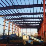 Estructuras industriales de acero