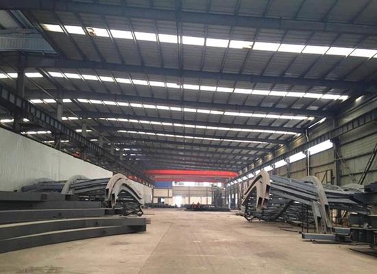 Estructuras industriales de acero para cargas pesadas