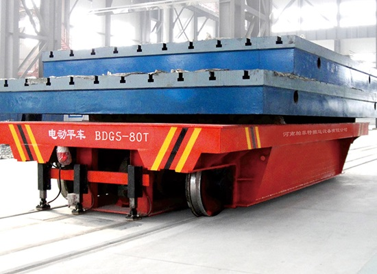 Venta de carros de transferencia de raíles para cargas pesadas