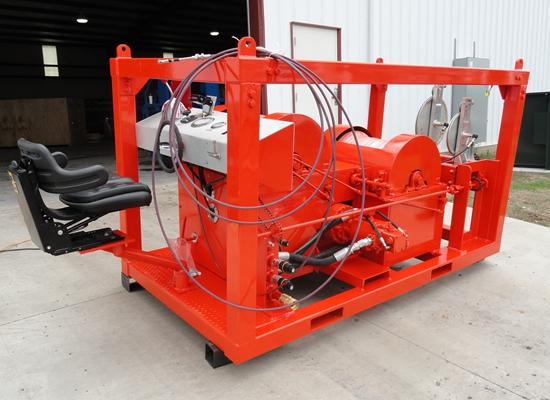Cabrestante para cargas pesadas AQ-JMM de baja velocidad