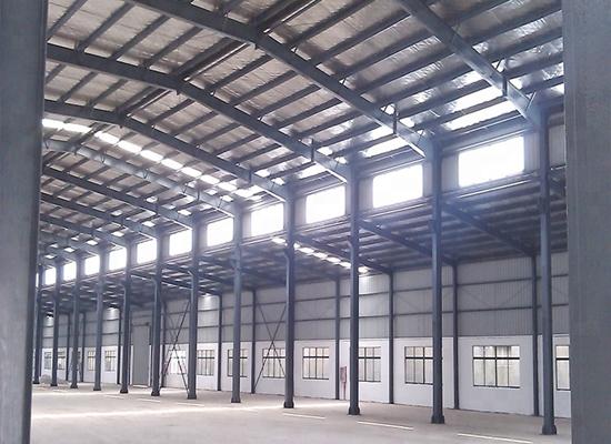 Fábrica de estructuras de acero portátiles