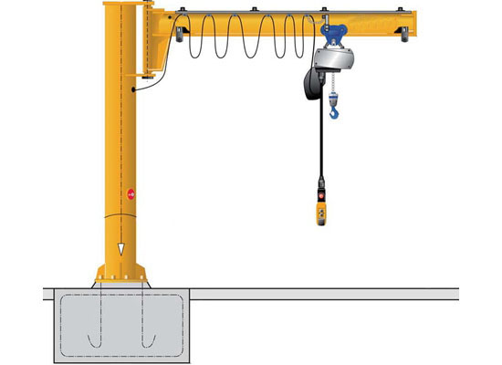 Reliable Column Jib Crane