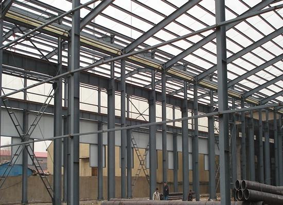 Fábrica de estructuras de acero simples