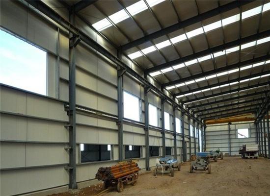 Fábrica de estructuras de acero estables