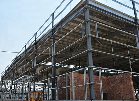 Fábrica de estructuras de acero de alta calidad