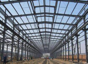 Almacén de estructura de acero de alta calidad