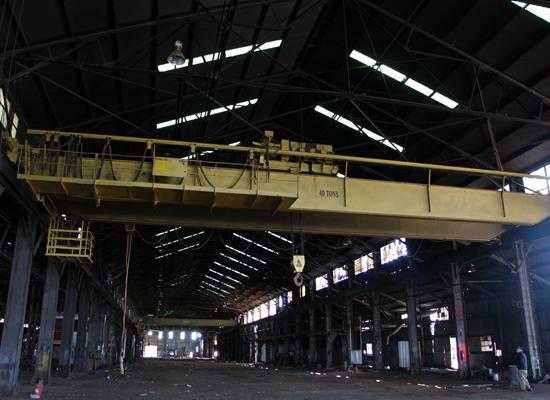 Puente grúa de fábrica de 40 toneladas