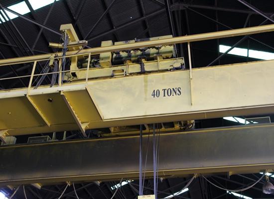 Grúa viajera de 40 toneladas
