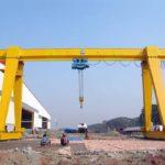 Grúa de pórtico de 12 toneladas