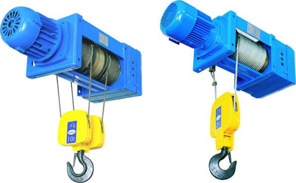 Polipasto eléctrico de cable de acero