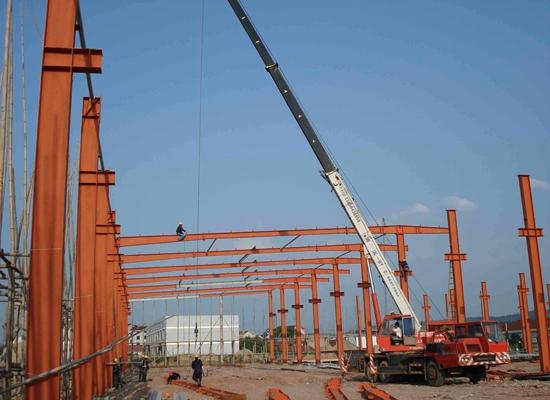 Estructuras duraderas de acero pesado
