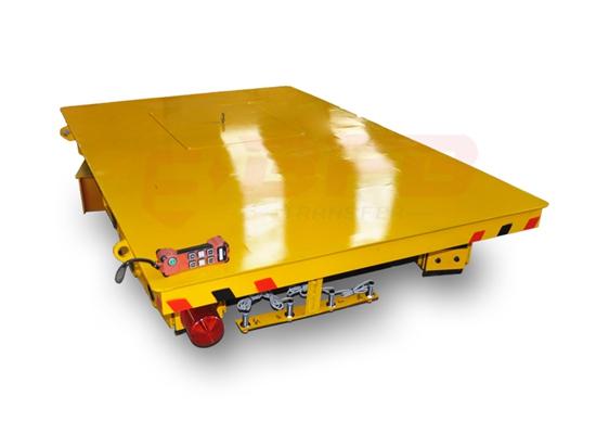 Carro de transferencia industrial flexible