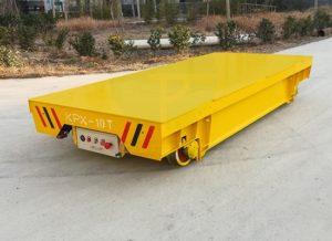 Carro de transferencia motorizado para cargas pesadas