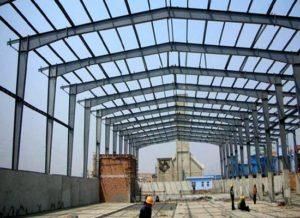 Estructuras ligeras de acero prefabricadas