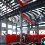Estructuras de acero para grúas