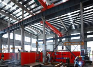 Estructuras de acero para grúas portátiles