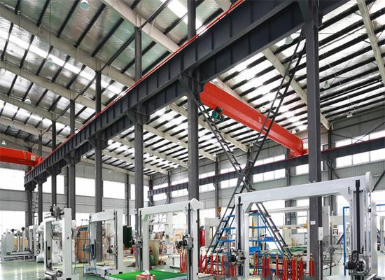 Estructuras de acero para grúas de gran uso