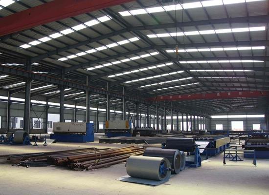 Venta de estructuras de acero pesado de uso general