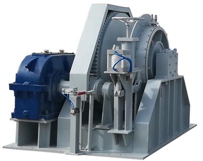 Se vende cabrestante hidráulico de 35 toneladas