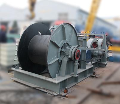 Cabrestante hidráulico compacto de 50 toneladas