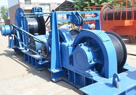 Cabrestante de fricción de 100 toneladas