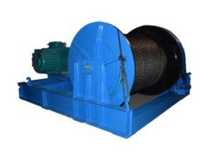 Se vende cabrestante hidráulico grande de 50 toneladas
