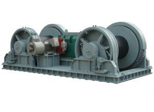 Cabrestante grande Cabrestante hidráulico de 35 toneladas