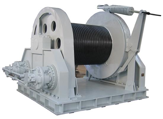 Cabrestante hidráulico fiable de 35 toneladas