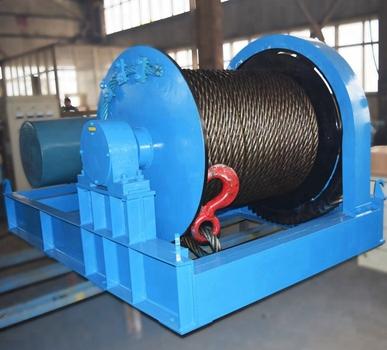 Cabrestante hidráulico fiable de 50 toneladas