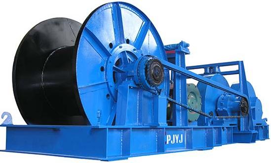 Cabrestante de 100 toneladas de alta calidad
