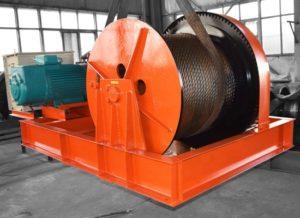 Cabrestante de 70 toneladas para trabajos pesados