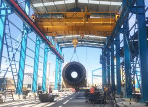 Venta de puentes grúa industriales