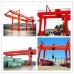 Clasificaciones y usos de la grúa pórtico para contenedores de ferrocarril