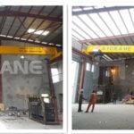 Instalación de una grúa aérea de 10 toneladas en Nigeria para nuestro cliente