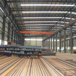 Características de la estructura de acero