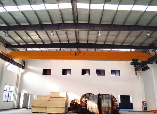 10ton overhead rail crane