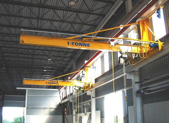 1 Ton Wall Traveling Jib Crane