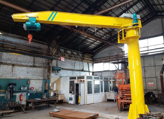 2 Ton Floor Mounted Jib Crane For Sale