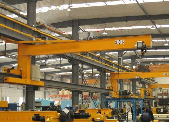 2 Ton Wall Traveling Jib Crane For Sale