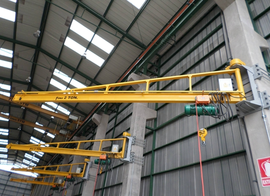2 Tonne Wall Mounted Jib Crane