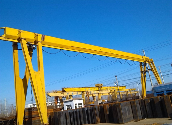 5 Ton Portable Single Girder Crane