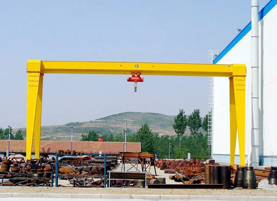 Box Type Gantry Crane Single Girder